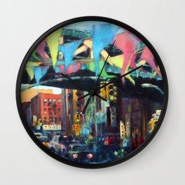 East Broadway Under the Manhattan Bridge Wall Clock