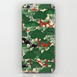 Enchanting Woodland Creatures iPhone Skin
