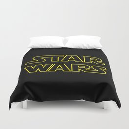 Star Logo Wars Duvet Cover