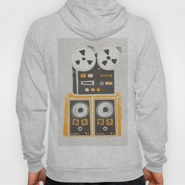 Reel to Reel Player Hoody