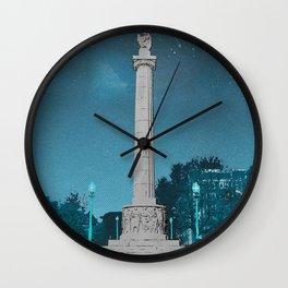 Logan Square - Illinois Centennial Monument 1918 Wall Clock