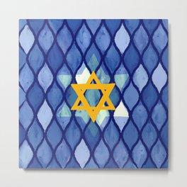 Jewish Celebration Metal Print