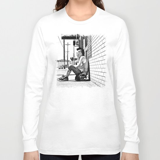 Tacoma skater Long Sleeve T-shirt