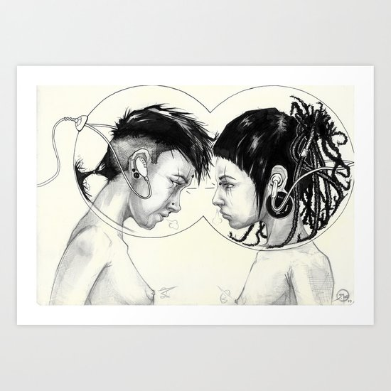 - VENN - Art Print