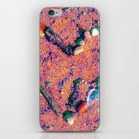 west coast iPhone & iPod Skins featuring West Coast Heart by Angela Pesic