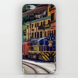 Peru Rail Train - Aguas Calientes iPhone Skin