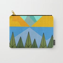Lake and mountains Carry-All Pouch