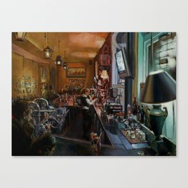 In the Wee Small Hours Canvas Print
