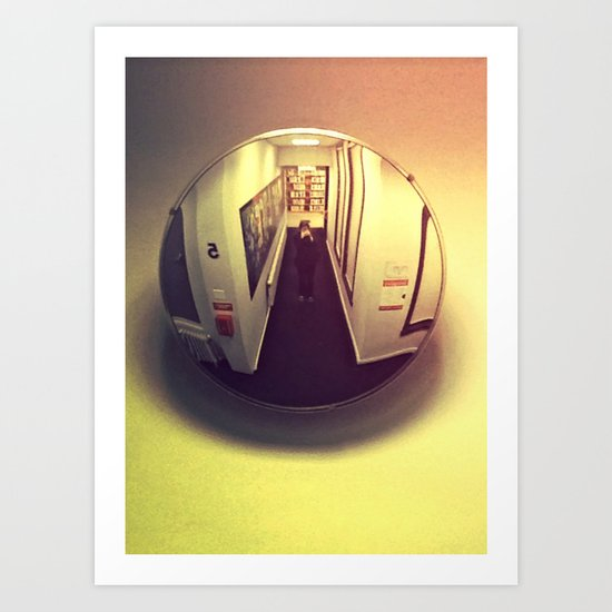 Mirror Ball #3 Art Print