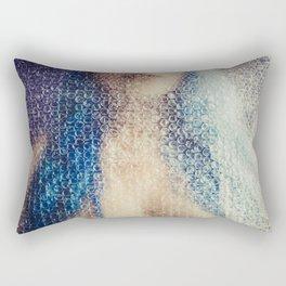 blue doll Rectangular Pillow