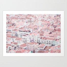Urban View Art Print