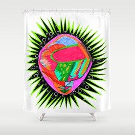 Porcupine Eye Shower Curtain