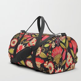 Blooms Butterflies and Ladybugs Duffle Bag
