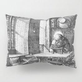 Saint Jerome in His Study by Albrecht Dürer Pillow Sham