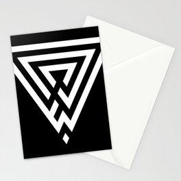 Testimella - triangle reflection Stationery Cards