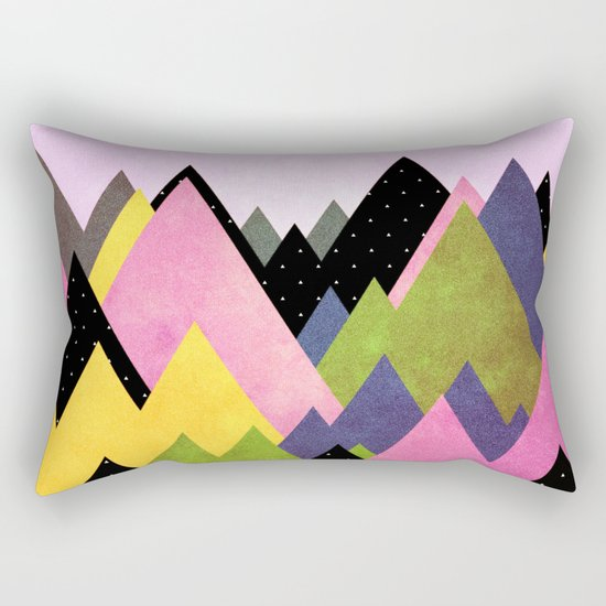 Moutains 3 Rectangular Pillow