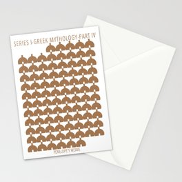 Penelope's weave Stationery Cards
