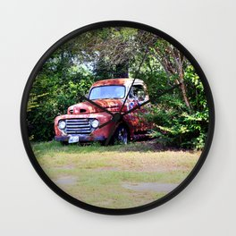 1950 Ford F100 Wall Clock