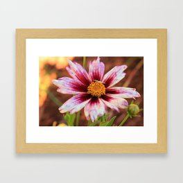 Hannah's Flower & Friend Framed Art Print