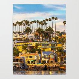 Classic Newport Beach Poster