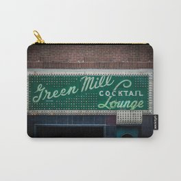 Green Mill Cocktail Lounge Vintage Neon Sign Uptown Chicago Carry-All Pouch