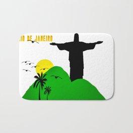 Rio de Janeiro Bath Mat