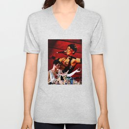 Do it With a Rockstar - Amanda Palmer Unisex V-Neck