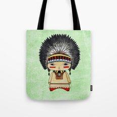 A Boy - American indian Tote Bag