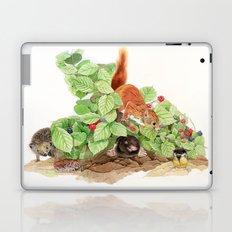 The Little Blue Jay - Little lost chick Laptop & iPad Skin