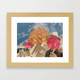 How Does My Suit Look? Framed Art Print
