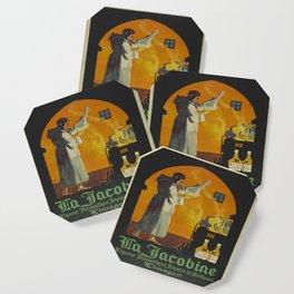 Vintage poster - La Jacobine Absinthe Coaster