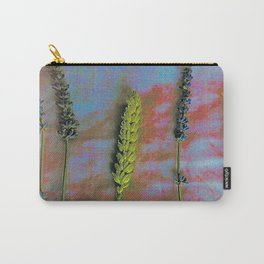 Lavender & Wheat Carry-All Pouch