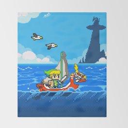 The Legend of Zelda: Wind Waker Advance Throw Blanket