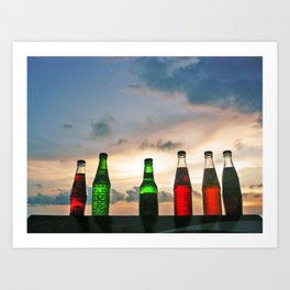Would you like something cold to drink? Art Print
