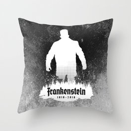 Frankenstein 1818-2018 - 200th Anniversary INV Throw Pillow