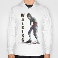 walking dead Hoodies featuring Walking Dead by FulgenSHOW Art