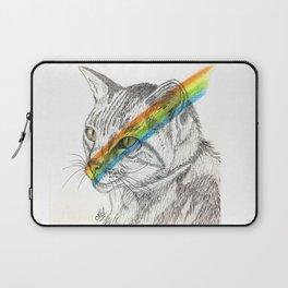 Cat's eye rainbow Laptop Sleeve