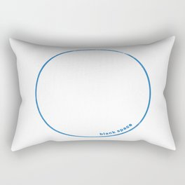 Blank Space Rectangular Pillow