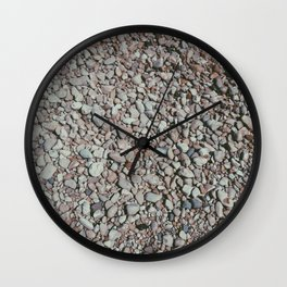 Rocky Beach Wall Clock