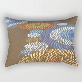 """""""Circle Free Form N°02"""" - Detail Rectangular Pillow"""