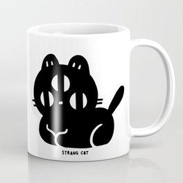 STRANGE CAT - sitting Coffee Mug