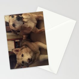 helens dogs  Stationery Cards