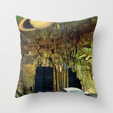 No entry to cops Throw Pillow