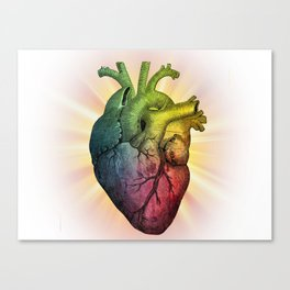 HEART ME Canvas Print