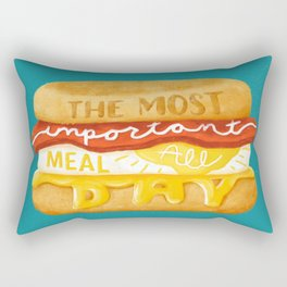 The Most Important Meal Rectangular Pillow