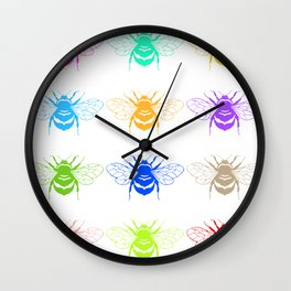 Honey Seekers  Wall Clock
