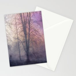 weird day - purple haze Stationery Cards