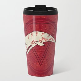 The Devil Roams These Waters Travel Mug