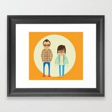 starting up Framed Art Print