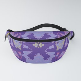 Pitcher Plants, Flowers, And Cats - Shared Colors Fanny Pack